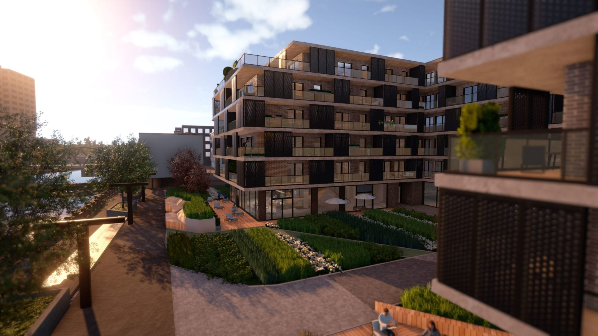 3D view from Wroclaw, Dom Development