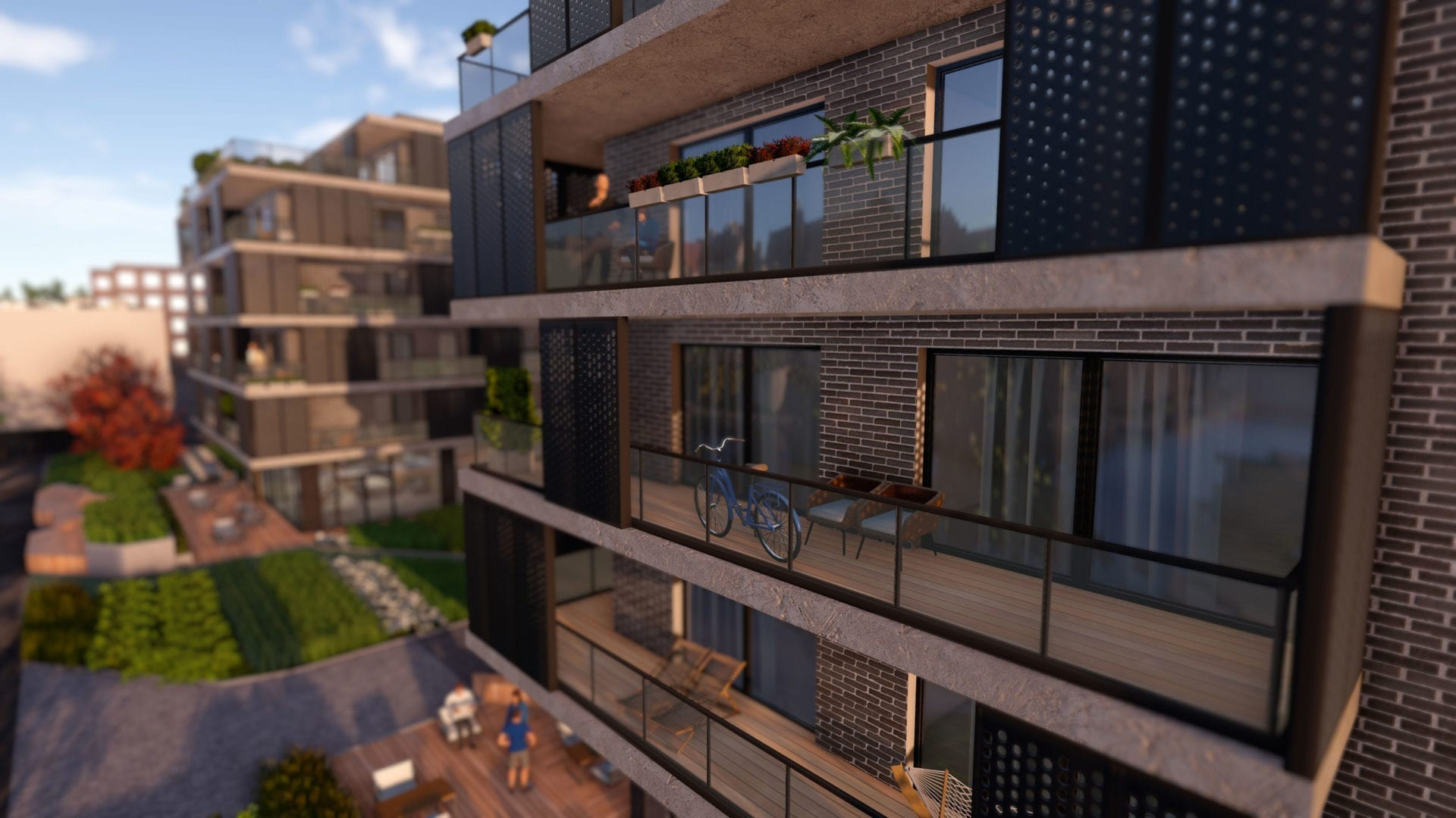 balcony view for 3D real estate app